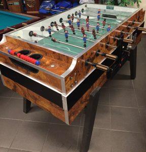 voetbaltafel stoffelen biljarts
